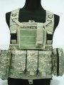 FSBE LBV Load Bearing Molle Assault Vest Digital ACU Camo