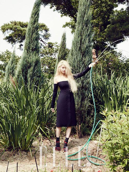 Krystal ~ Elle Magazine