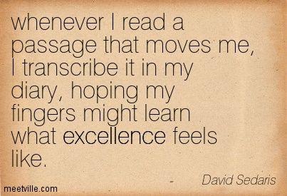 David sedaris essay high school