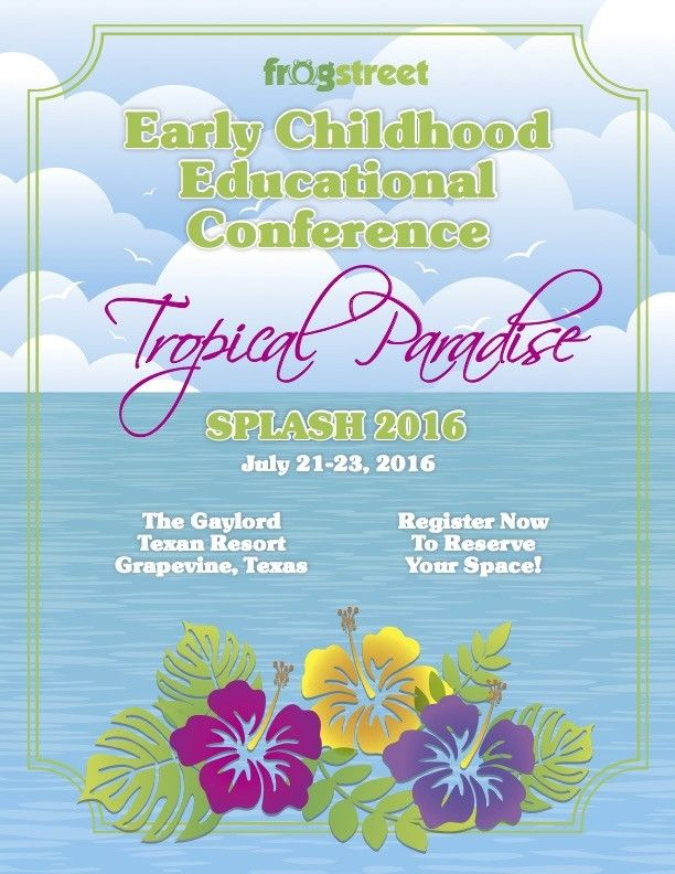 Splash 2016 Conference Registration  | Frog Street Press