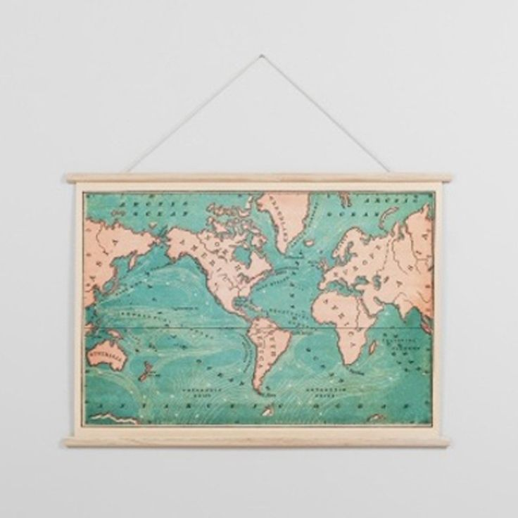 333 best b e d r o o m images on pinterest bedroom ideas master this vintage inspired map is a great piece for those who like to see the world includes the wood frame at the top and bottom plus a rope for easy hanging gumiabroncs Gallery
