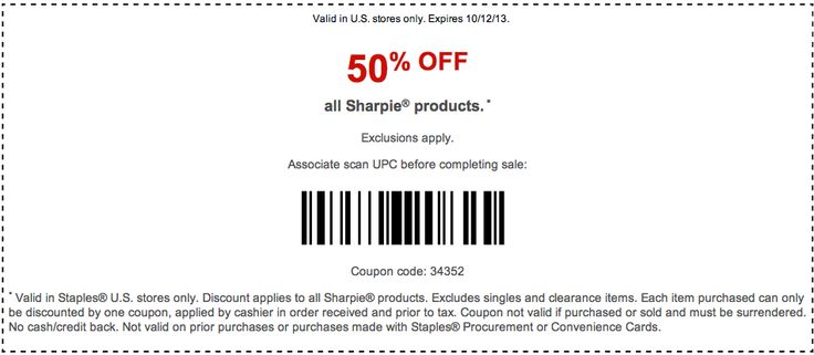 Find Printable Coupons Coupon Codes Promos And Other Deals HereSave BIG With Free Staples Discounts For Along