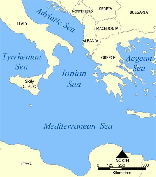file ionian sea map mediterranean aegean sea ionian sea