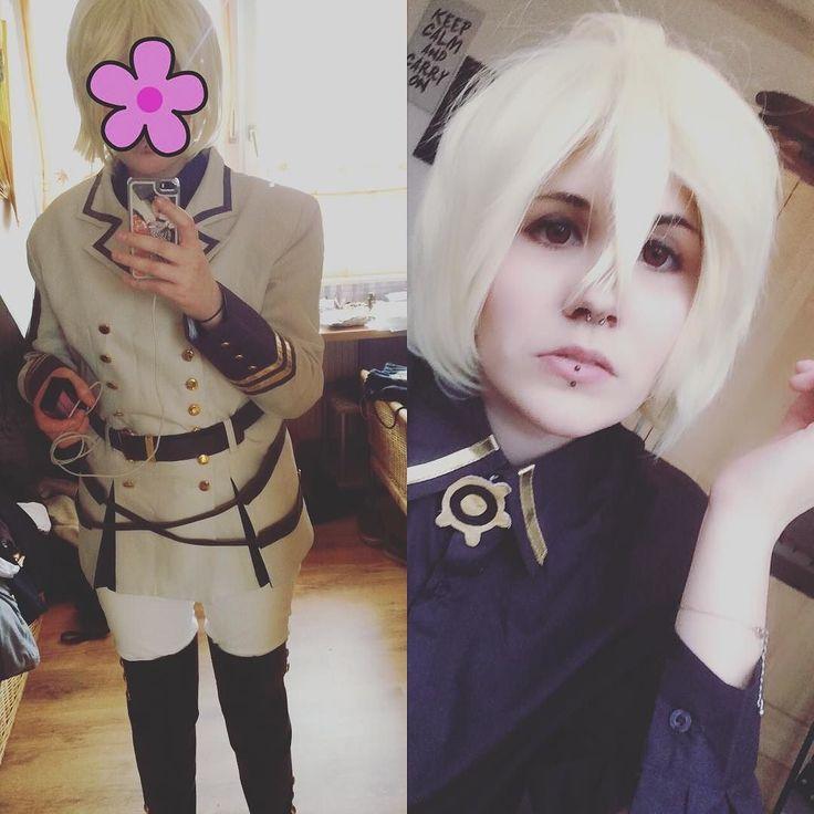 Mikaela Hyakuya  #sexy #sadist #redcirclelenses #vampire #anime #manga #makeup #cosplaymakeup #selfie #septum #eskimo #seraphoftheend #i#owarinoseraph #owarinoseraphcosplay #mikaelahyakuya #yuichirohyakuya #uniform #gay #german #germancosplayer #male #doll #youtube #cute #bored #kawaii #uke #seme #cosplay