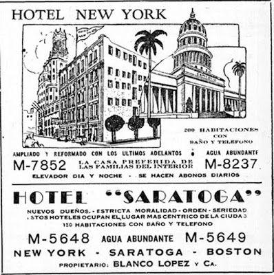 Segunda Zafra: Hotel New York - Hoteles de Cuba