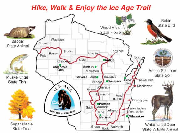 Ice Age Trail | It's our dream to hike the entire thing one summer.