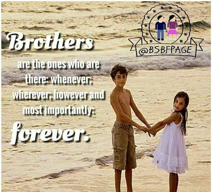 Dear Brother Thank You For Standing By My Side When Times Get Hard Thank You For M Thank You Quotes For Friends Make Me Laugh Brother And Sister Relationship