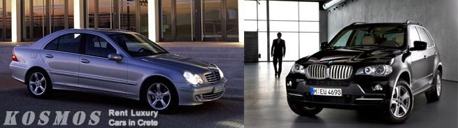 Rent Luxury Car Crete