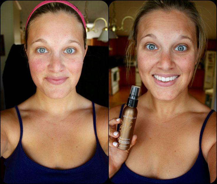 Self tanning spray & lotion