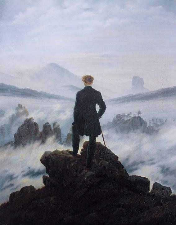 Caspar David Friedrich obras importantes