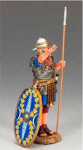 LoJ22 King and Country Roman Auxiliary Saluting #king #roman #JesusEra #auxiliary #history #toys