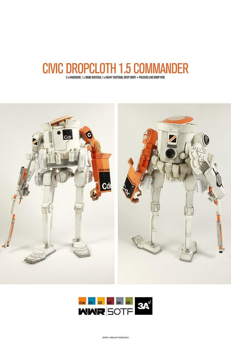 "Wo3A's ""Civic Dropcloth 1.5 Commander"""