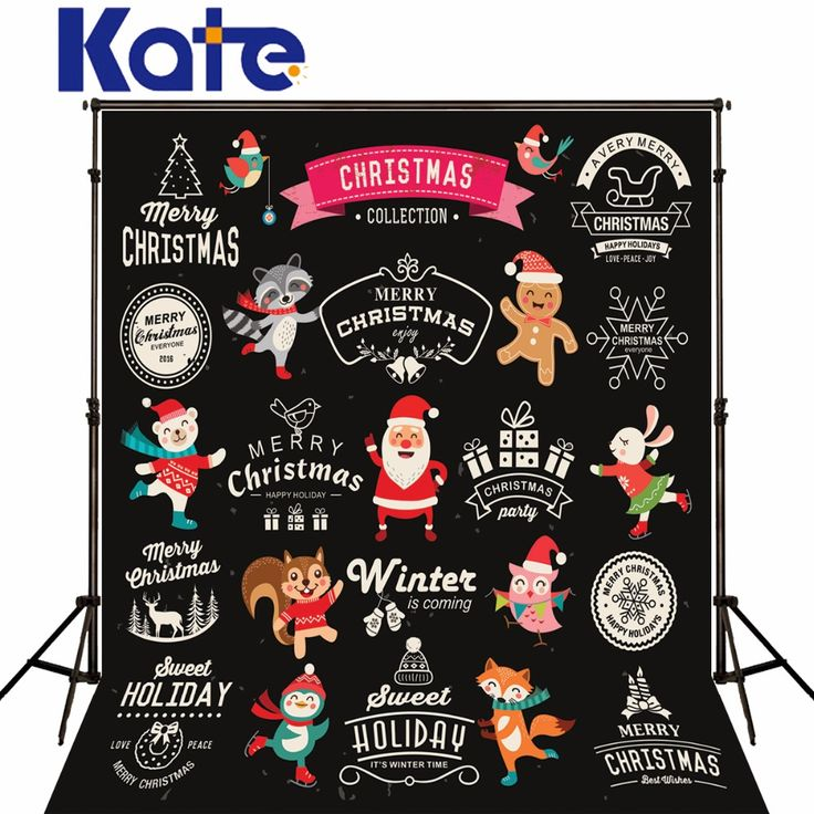 Find More Background Information about Kate Black Christmas studio Backgrounds Santa Claus Cute Cartoon Animals for Children Christmas Photography Backdrops,High Quality animated snowmen,China animal cartoon character Suppliers, Cheap cartoon otter from Marry wang on Aliexpress.com