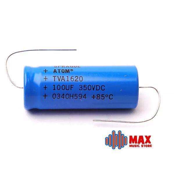 3 Pcs Sprague Atom Aluminum Electrolytic Capacitor 100µf 350v Sprague Capacitor Atom Energy Drink Can