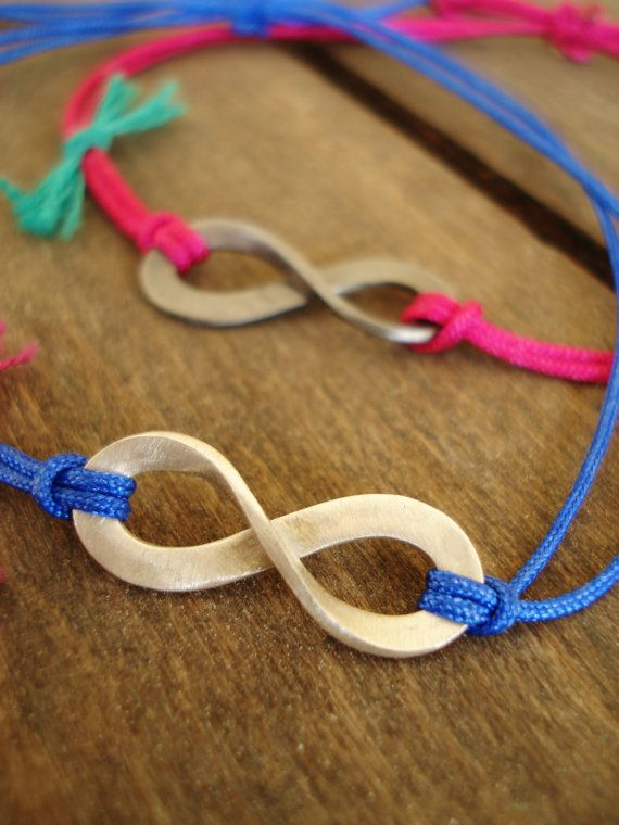 TWO Sterling Silver Infinity Bracelets  Infinity by LePetitMagique, €15.00