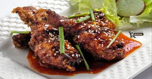 Pollo frito estilo Coreano   Cocina
