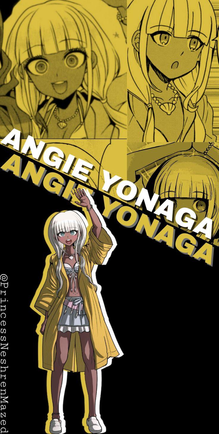 angie yonaga wallpaper in 2020 angie yonaga danganronpa