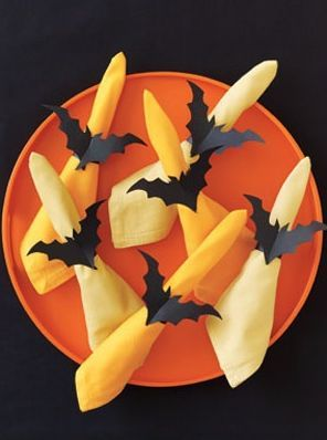 Napkin rings Halloween party