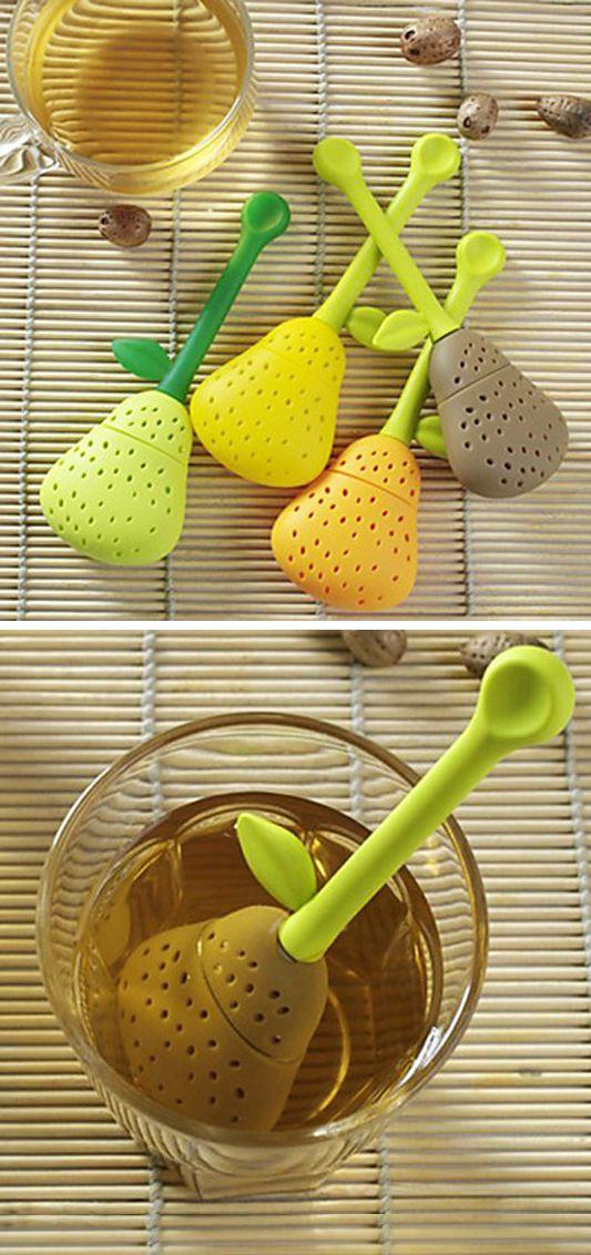 Pear tea infuser #product_design