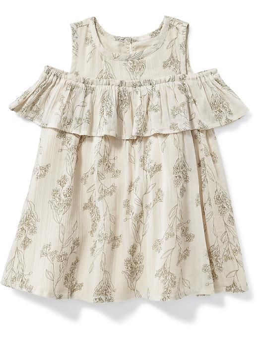 Off-The-Shoulder Ruffle Dress for Baby. For Mags?
