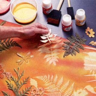 Sun printing techniques... something that we used to do years ago! Great to have a reminder :)