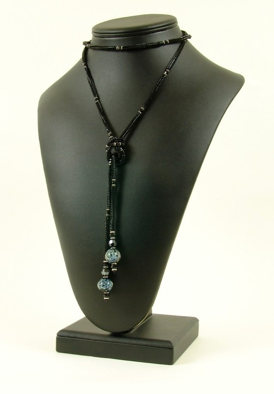 Necklaces: Beads Inspiration, Beads Necklaces, Beading2, Simple, Beautiful, Black Lariat, Sorting, Beads 2, Handmade Jewelry