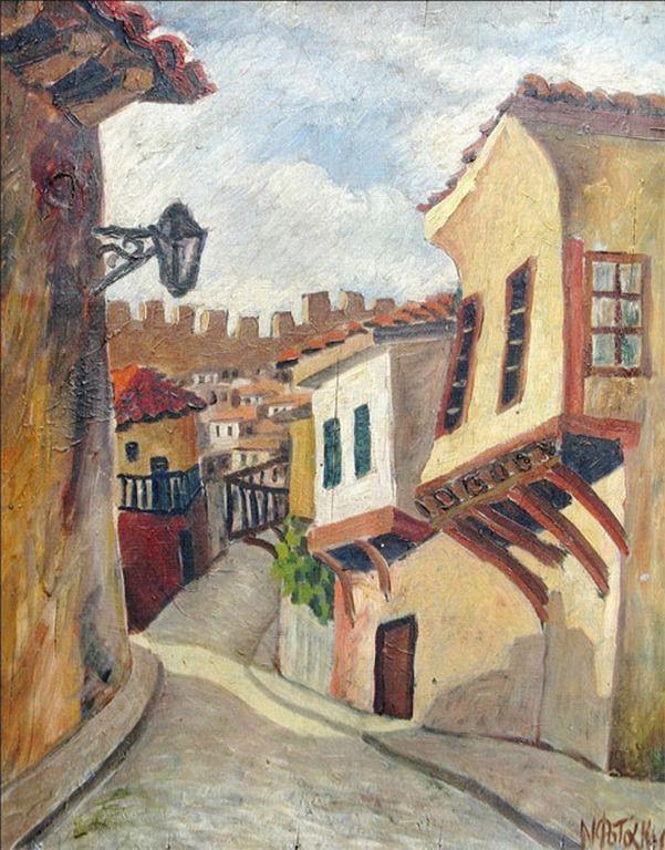 .:. Φωτάκης Νίκος – Nikos Fotakis [1904-1959] -Ανω Πόλη