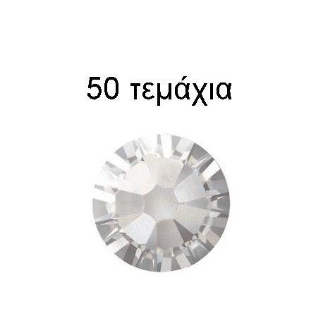Swarovski SS5 Λευκό 50 τμχ.