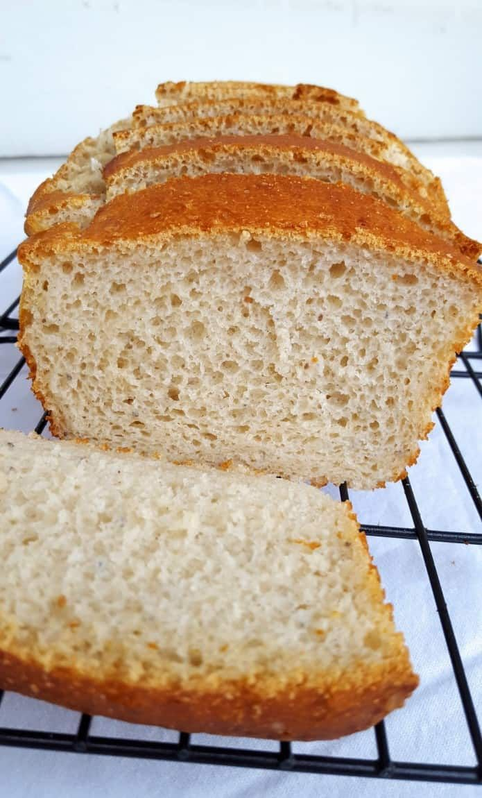 Amazing Gluten Free White Bread Without Xanthan Gum Recipe Gluten Free Cakes Food Lactose Free Desserts