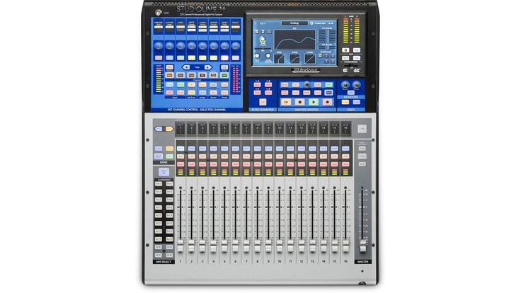 NAMM 2017: PreSonus StudioLive 16 - Digitales Mischpult mit 16 Kanalzügen - http://www.delamar.de/musik-equipment/presonus-studiolive-16-38625/?utm_source=Pinterest&utm_medium=post-id%2B38625&utm_campaign=autopost