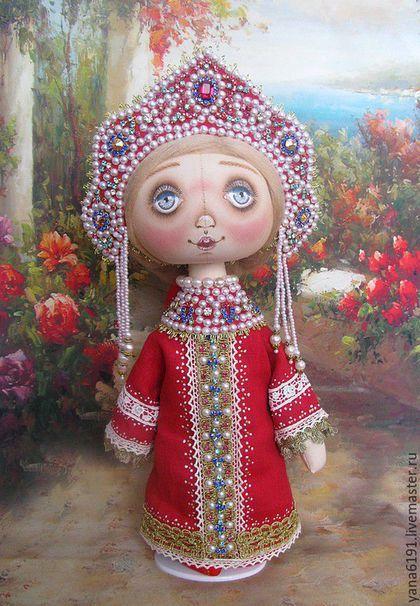 Сувениры ручной работы. Ярмарка Мастеров - ручная работа. Купить Кукла в русском…