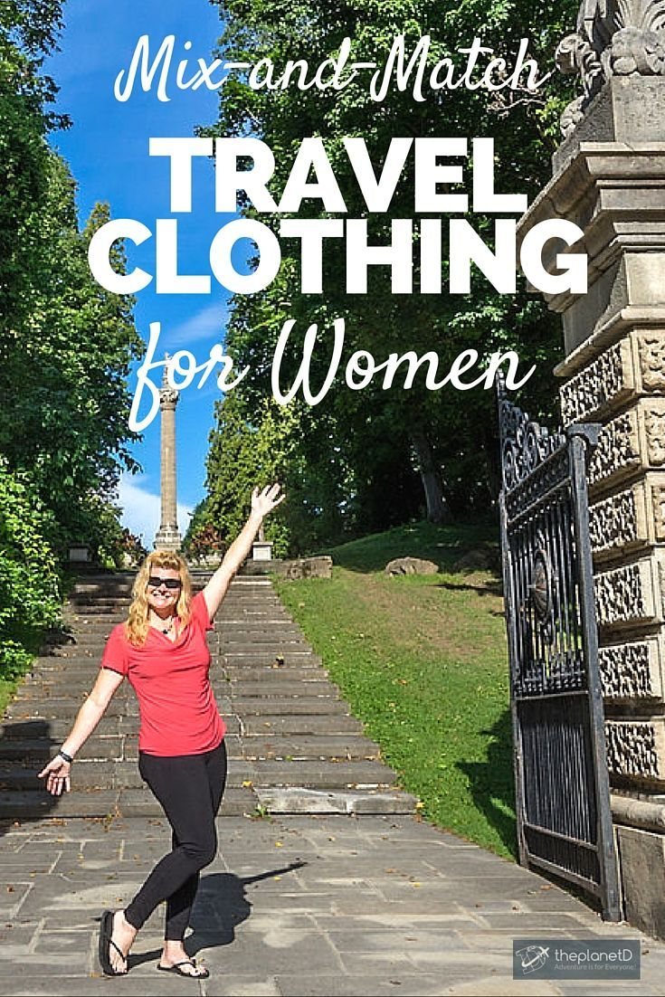 7 of the Best Mix and Match Travel Clothes for Women | It's difficult to pack light and look good at the same time. So I've rounded up my best most versatile pieces of travel clothes for women that I've been wearing the past few months of travel by TravelSmith | The Planet D: Canada's Adventure Travel Couple