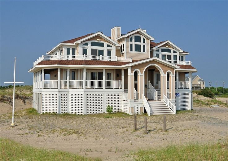 Twiddy Outer Banks Vacation Home - Army-Navy Annex OBX - 4x4 - Semi-Oceanfront - 7 Bedrooms