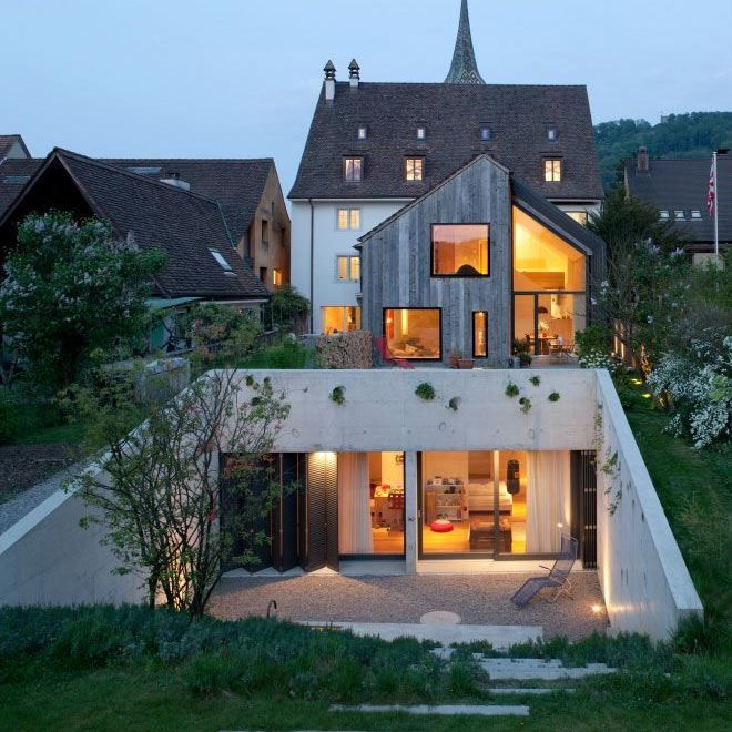 Kirchplatz Office + Residence by Oppenheim Architecture + Design: Idea, Dream, Offices, House, Kirchplatz Office, Architecture Design, Oppenheim Architecture