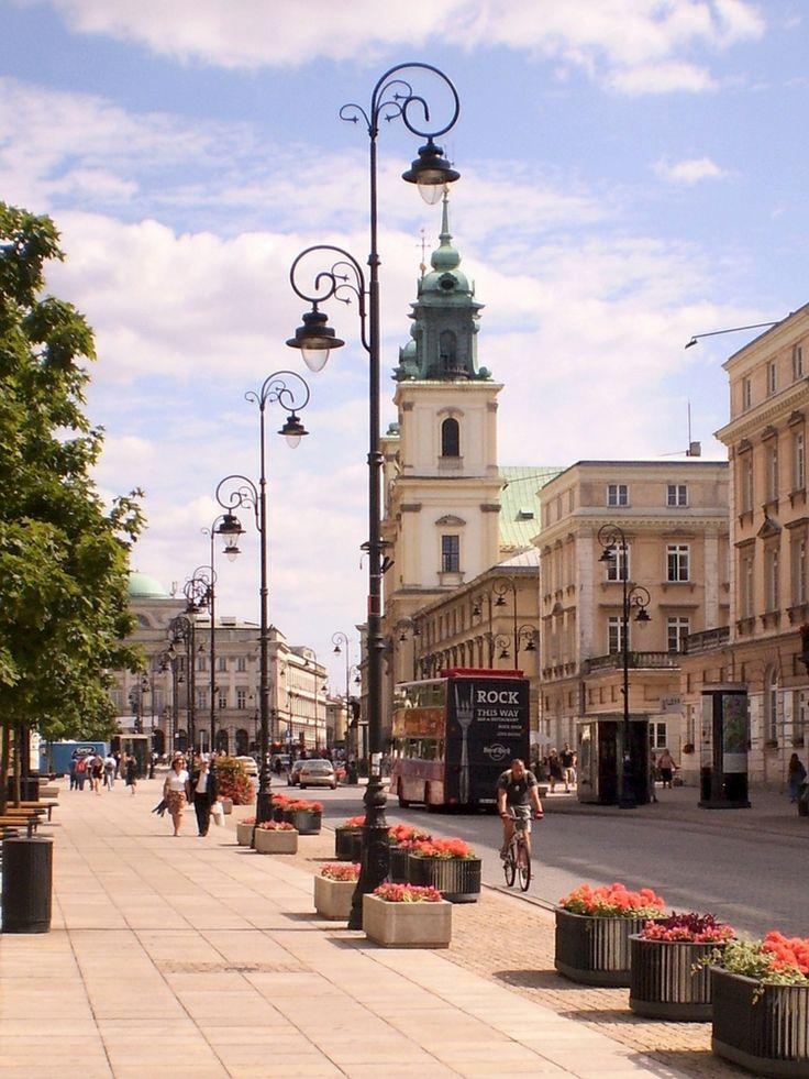 The best attractions in Warsaw - Krakowskie Przedmieście