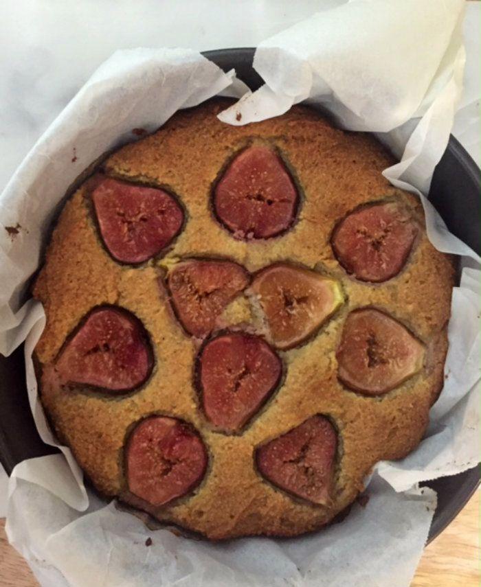 Fig Almond & Orange Tart