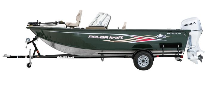 New 2013 Polar Kraft Boats NorEaster 179 WT Multi-Species Fishing Boat