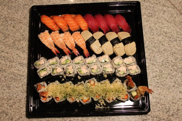 When the whole squad needs sushi, Ten Sushi has your back with whole platters of the good stuff!
