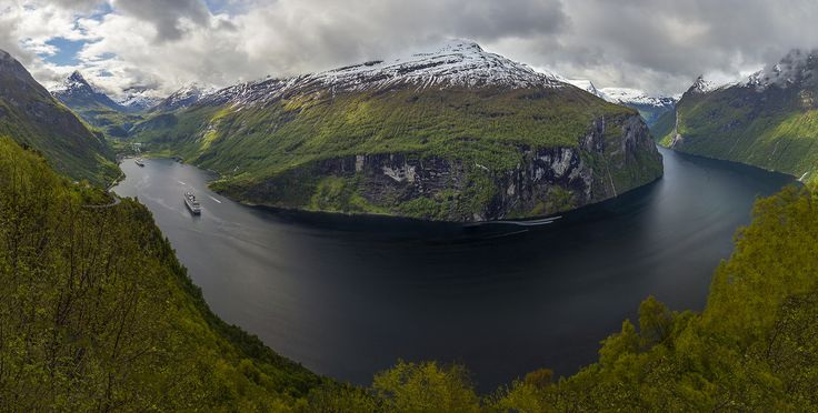 Panorama Geirangerfjord by Christer Olsen on 500px