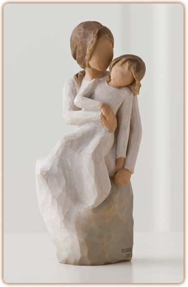 Willow Tree Figurine-Mother Daughter....Laughter with love... always.