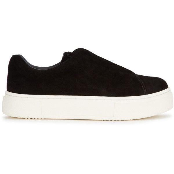 EYTYS Doja S-O Black Suede Trainers - Size 4 (\u20ac205) ? liked on