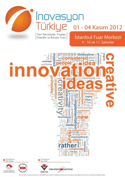 İnovasyon Fuarına Patent Enstitüsü tarafından davet edilen tasarımımız 9.Salon girişinde solda, görüşmek dileğiyle :)