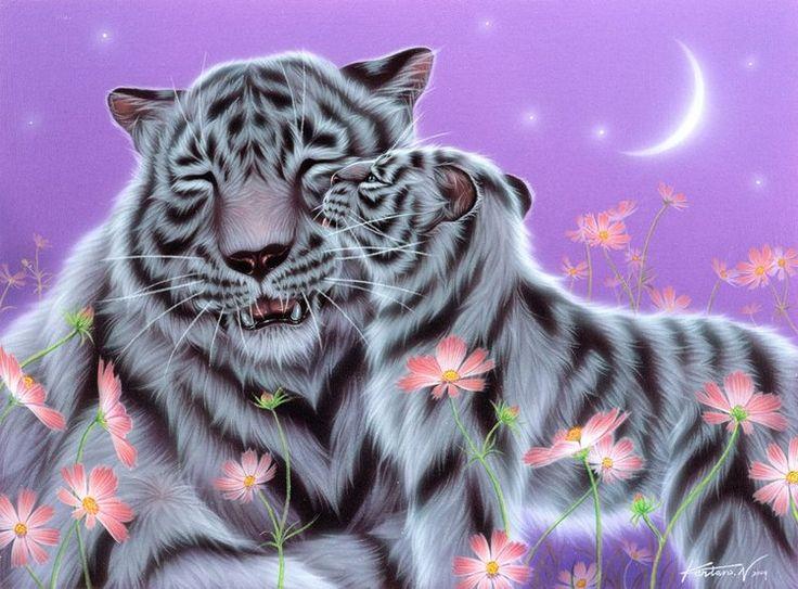Big Cute Baby Wallpaper I Love You Mom By Kentaro Nishino 動物を描く、かわいい動物の絵、可愛すぎる動物