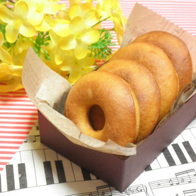 ホットケーキミックスで☆豆乳きなこの焼きドーナツ