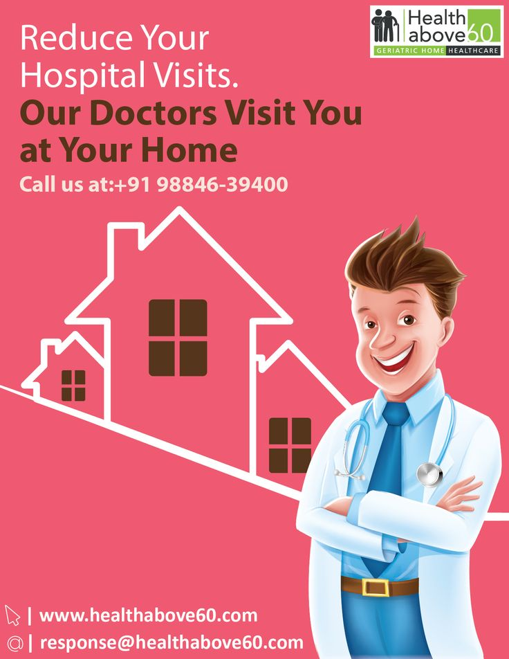 Let Your #Seniors to Get Healed at Home by Experienced #Geriatric #Doctors. For Appointment call us at 9884639400