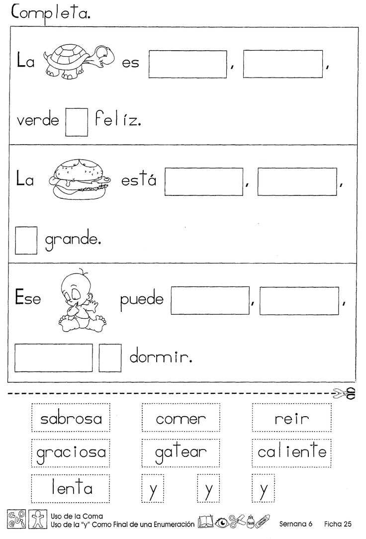 Uso-de-la-coma-uso-de-la-y-. Spanish ClassLearning SpanishSpanish  ImmersionMultiplication WorksheetsLearning ActivitiesLanguage ArtsSpeech ...