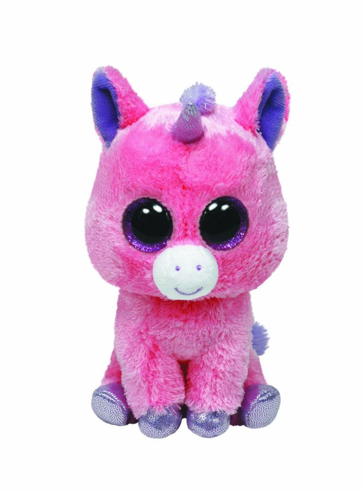 Ty Beanie Boo Magic The Unicorn 6 Inch Sparkly