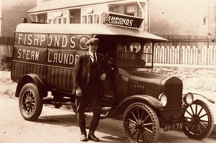Fishponds Bristol 1920s.