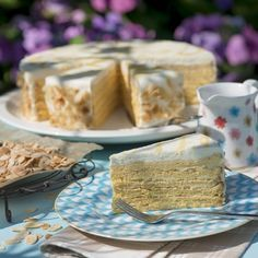 Weiße Prinzregenten-Torte