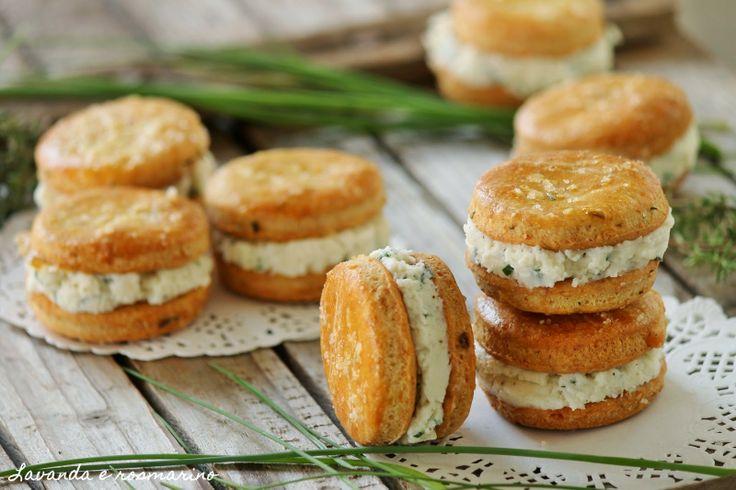 Macarons salati